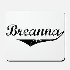 Breanna Vintage (Black) Mousepad