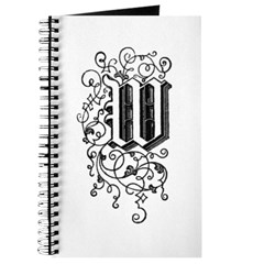 Letter W Journal