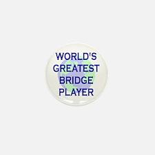 World's Greatest Bridge Playe Mini Button