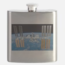 ISS, international space station Flask