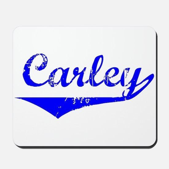 Carley Vintage (Blue) Mousepad