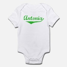 Antonia Vintage (Green) Infant Bodysuit