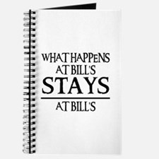 STAYS AT BILL'S Journal