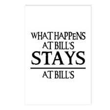 STAYS AT BILL'S Postcards (Package of 8)