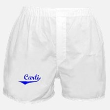 Carli Vintage (Blue) Boxer Shorts