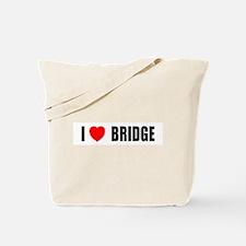 I Love Bridge Tote Bag