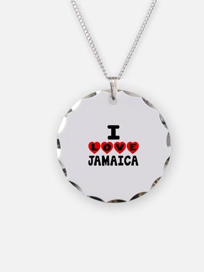 I Love Jamaica Necklace