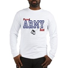 army aunt Long Sleeve T-Shirt