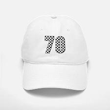 Race Car #70 Baseball Baseball Cap
