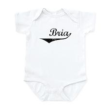 Bria Vintage (Black) Infant Bodysuit