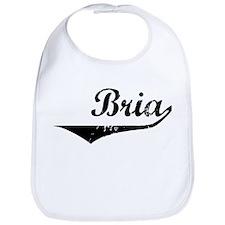 Bria Vintage (Black) Bib
