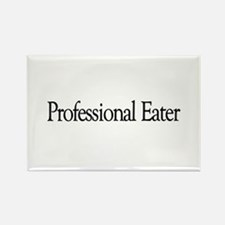 Professional Eater Rectangle Magnet