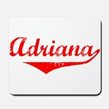 Adriana Vintage (Red) Mousepad
