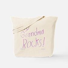 My Grandma Rocks ! Tote Bag