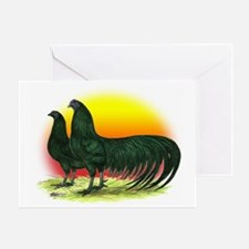Sumatra Game Fowl Greeting Card