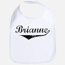 Brianne Vintage (Black) Bib