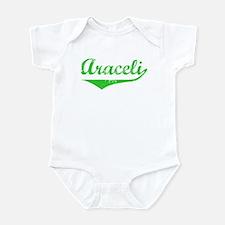 Araceli Vintage (Green) Infant Bodysuit