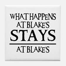 STAYS AT BLAKE'S Tile Coaster