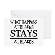 STAYS AT BLAKE'S Greeting Cards (Pk of 10)