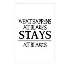 STAYS AT BLAKE'S Postcards (Package of 8)