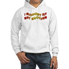 I Support My Gay Brother Oran Jumper Hoody