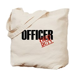 Off Duty Officer Tote Bag
