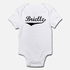 Brielle Vintage (Black) Infant Bodysuit