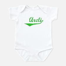 Areli Vintage (Green) Infant Bodysuit