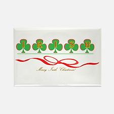 Merry Irish Christmas II Rectangle Magnet