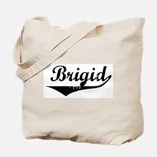 Brigid Vintage (Black) Tote Bag