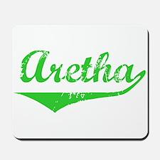 Aretha Vintage (Green) Mousepad