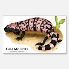 Gila Monster Rectangle Decal