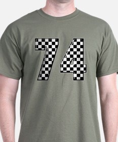 Racing Number 74 T-Shirt
