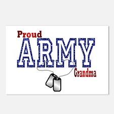army grandma Postcards (Package of 8)