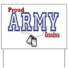 army grandma Yard Sign