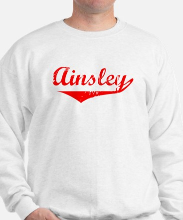 Ainsley Vintage (Red) Sweater