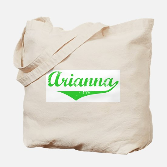 Arianna Vintage (Green) Tote Bag