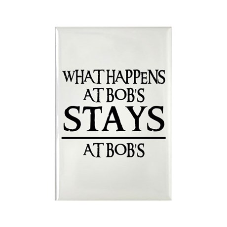 STAYS AT BOB'S Rectangle Magnet (100 pack)