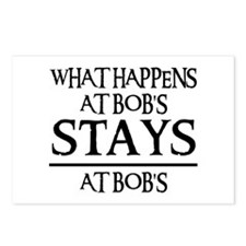 STAYS AT BOB'S Postcards (Package of 8)
