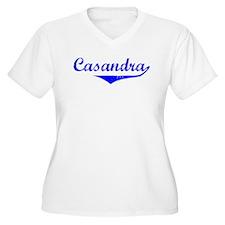 Casandra Vintage (Blue) T-Shirt