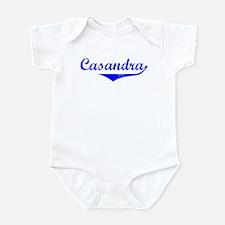 Casandra Vintage (Blue) Infant Bodysuit