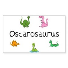 Oscarosaurus Rectangle Decal