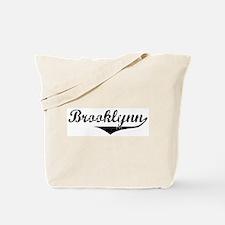 Brooklynn Vintage (Black) Tote Bag