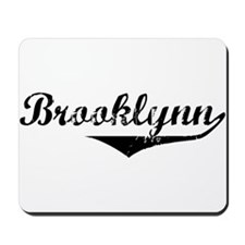 Brooklynn Vintage (Black) Mousepad