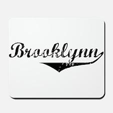 Brooklynn Vintage (Black) Mousepad