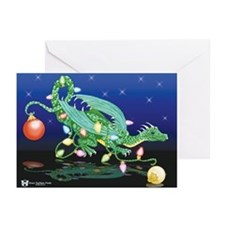 Christmas Dragon Holiday Cards (Pk of 10)