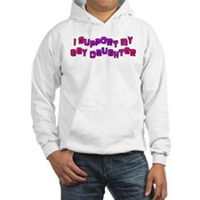 I Support My Gay Daughter Pin Jumper Hoody