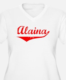 Alaina Vintage (Red) T-Shirt