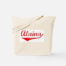 Alaina Vintage (Red) Tote Bag