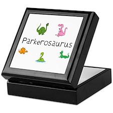 Parkerosaurus  Keepsake Box